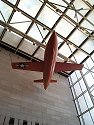 X-1 Glamorous Glennis, rocket plane which broke the sound barrier, National Air and Space Museum, Washington, 1999.