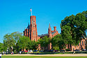 Smithsonian Castle, May 2000.