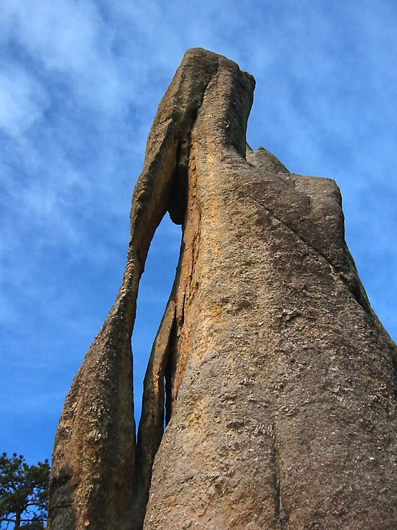 Eye of the Needle, Needles Highway, South Dakota.  Click for next photo.