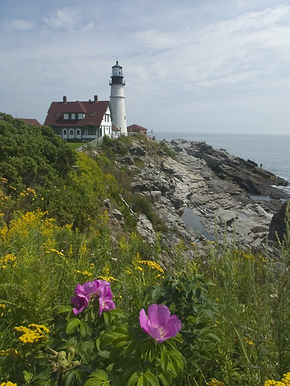 Portland (Maine) lighthouse  Click for next photo.