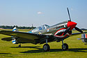 P-40 Kittyhawk with Flying Tigers Chinese markings.
