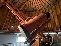 The Pluto Discovery Telescope, Lowell Observatory, Flagstaff, Arizona, 2002.  Clyde Tombaugh discovered Pluto by analyzing photos from this telescope in 1930.