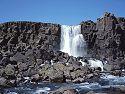 Öxarárfoss near Þingvellir.