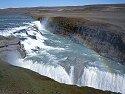 Gullfoss, the Golden Waterfall.