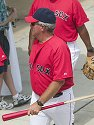 If Manager Grady Little knew then what he knows now... Red Sox spring training, Fort Myers, Florida, 2003.