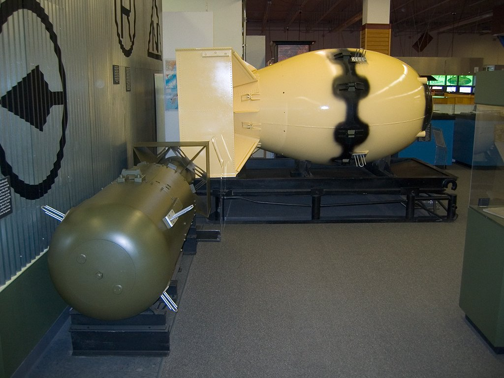 fat man and little boy The second plutonium bomb core was delivered to tinian for use in the first deliverable fat man weapon against kokura arsenal only days after the arrival of little boy.