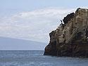 Blue heron, Punta Vicente Roca, Isabela Island, Galapagos, Dec.14, 2004.