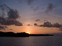 Sunset, Espanola Island, Galapagos, Dec.12, 2004.