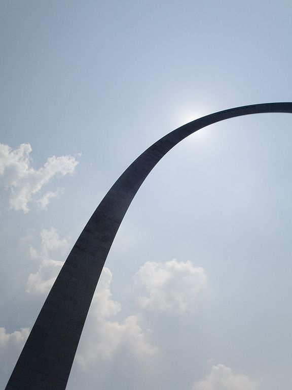 St. Louis Arch.  Click for next photo.