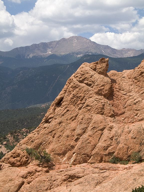 Garden of the Gods, Colorado.  Click for next photo.