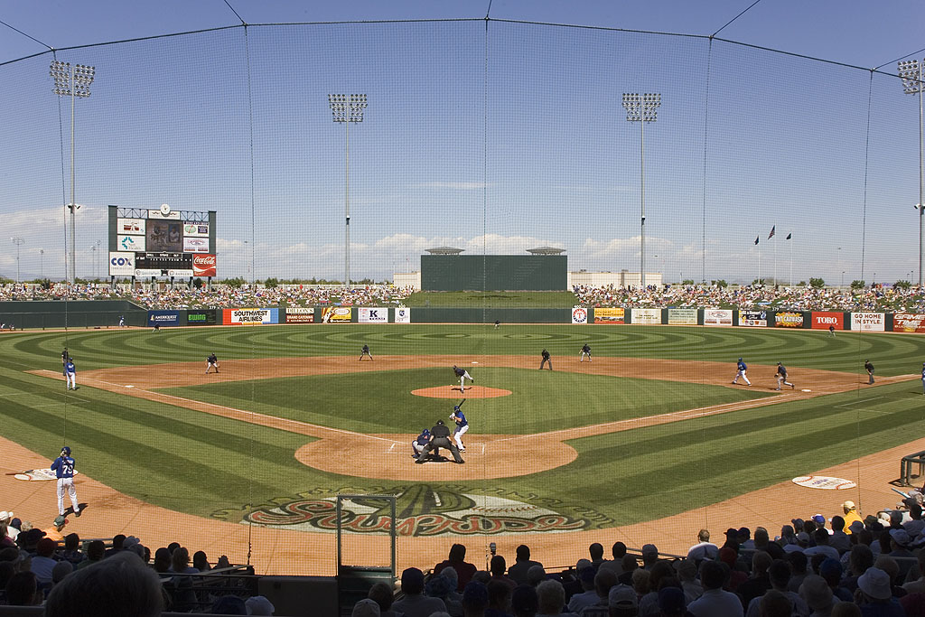 Surprise Stadium, Surprise, Arizona, March 2005.