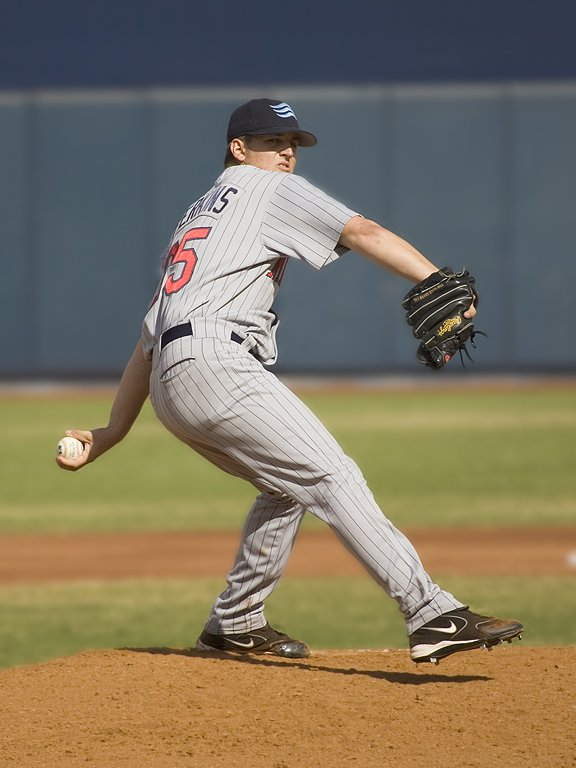 Glen Perkins, Arizona Fall League, 2005.