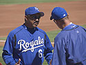 Royals Manager Tony Pena, spring 2005.
