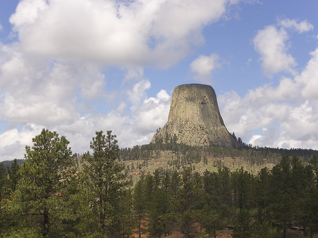 Devils Tower, Wyoming, June 2008.  Click for next photo.