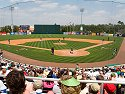 St. Patrick's Day at Hammond Stadium, spring training home of the Minnesota Twins in Ft. Myers, Florida, 2008.