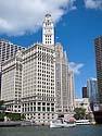 Wrigley Building, Chicago, September 2011.