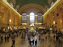 Rush hour at Grand Central Station, May 2011.