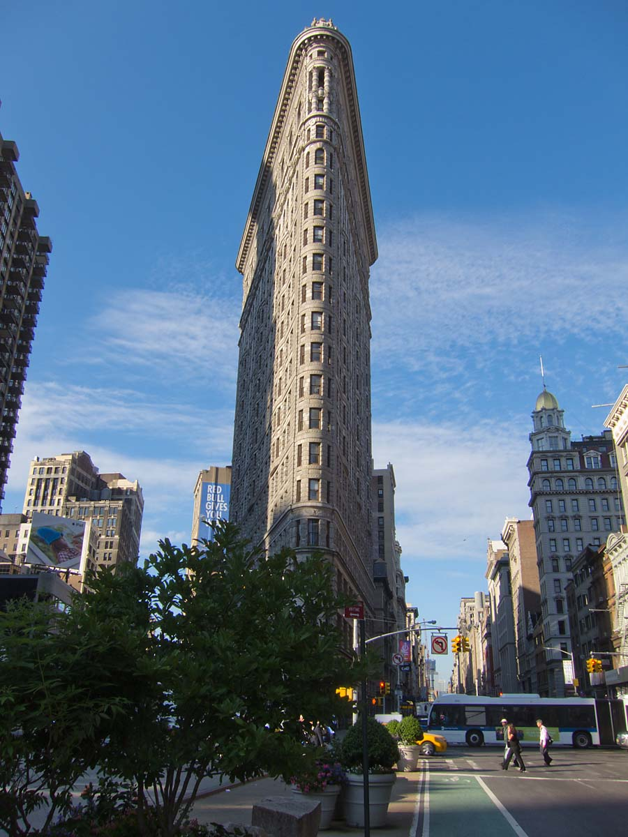 Flatiron Building, New York, June 2012.  Click for next photo.