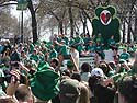 St. Patrick´s Day Parade, Chicago, 2012.