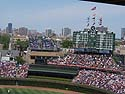Wrigley Field, Chicago, June 2012.