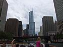 Trump Tower, Chicago River boat tour, July 2012.