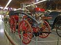 Antique steam fire engine pumper, Mackinac Island, Michigan, August 2012.