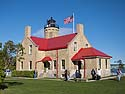 Old Mackinac Point Lighthouse, Mackinaw City, Michigan, August 2012.