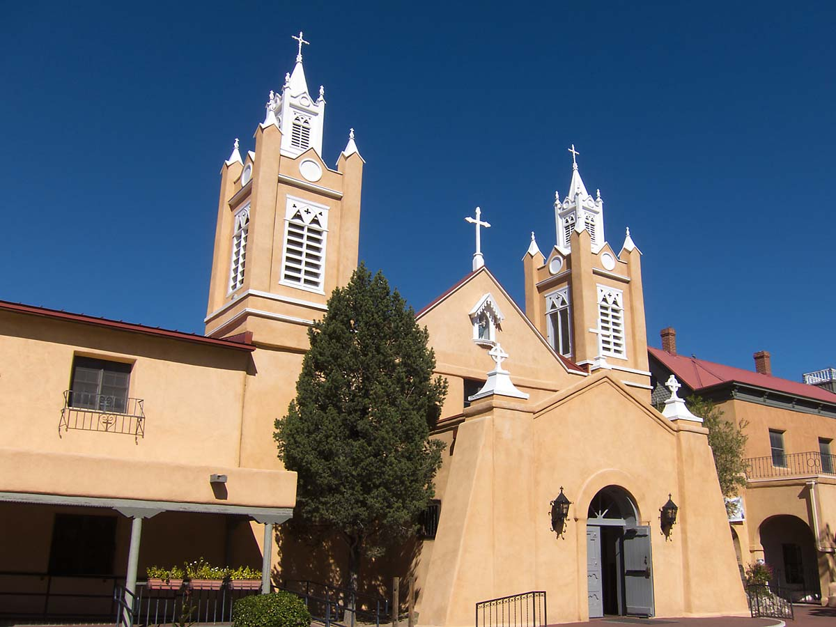 San Felipe de Neri, Old Town Albuquerque, October 2013.  Click for next photo.