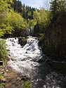 On the way to Montana, Roughlock Falls, Spearfish Canyon, SD, June 2013.
