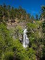On the way to Montana, Bridal Veil Falls, Spearfish Canyon, SD, June 2013.