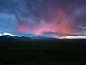 Sunset, Red Lodge, MT, June 2013.