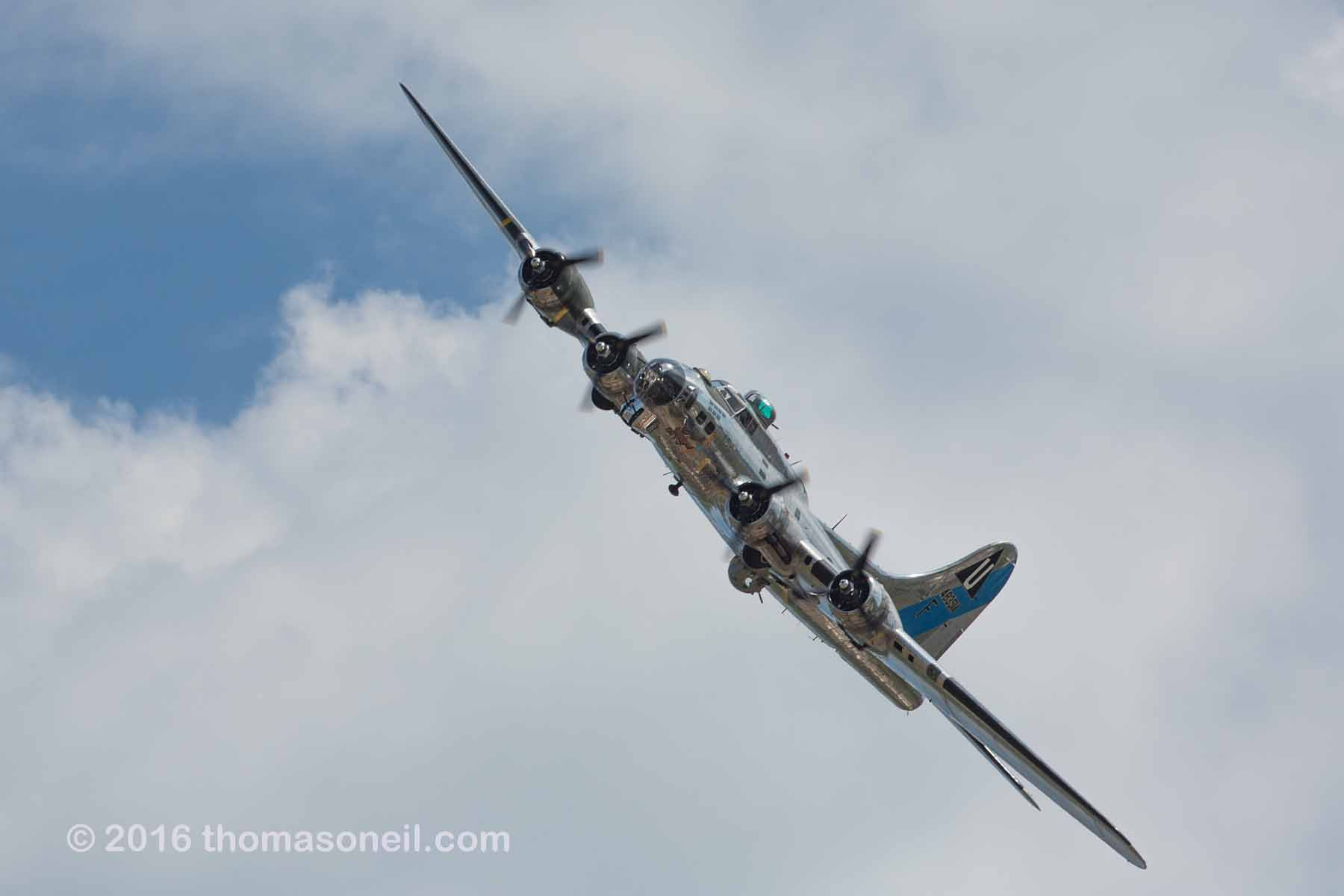 B-17 Sentimental Journey.  Click for next photo.