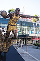 Statue of Magic, Staples Center, Los Angeles.