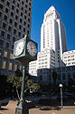Another view of Los Angeles City Hall.