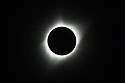 Solar eclipse, Aug. 21, 2017, first image of totality and the corona.  Shutter speed 1/250.