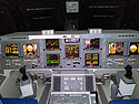 Control panel for Space Shuttle replica Independence, Johnson Space Center, Houston, July 2017.