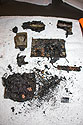 The remains of my Moultrie trail camera, destroyed by fire in December 2017 in Custer State Park