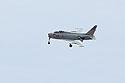 Navy fighter FJ-4B Fury, Vietnam era carrier plane for ground attack.